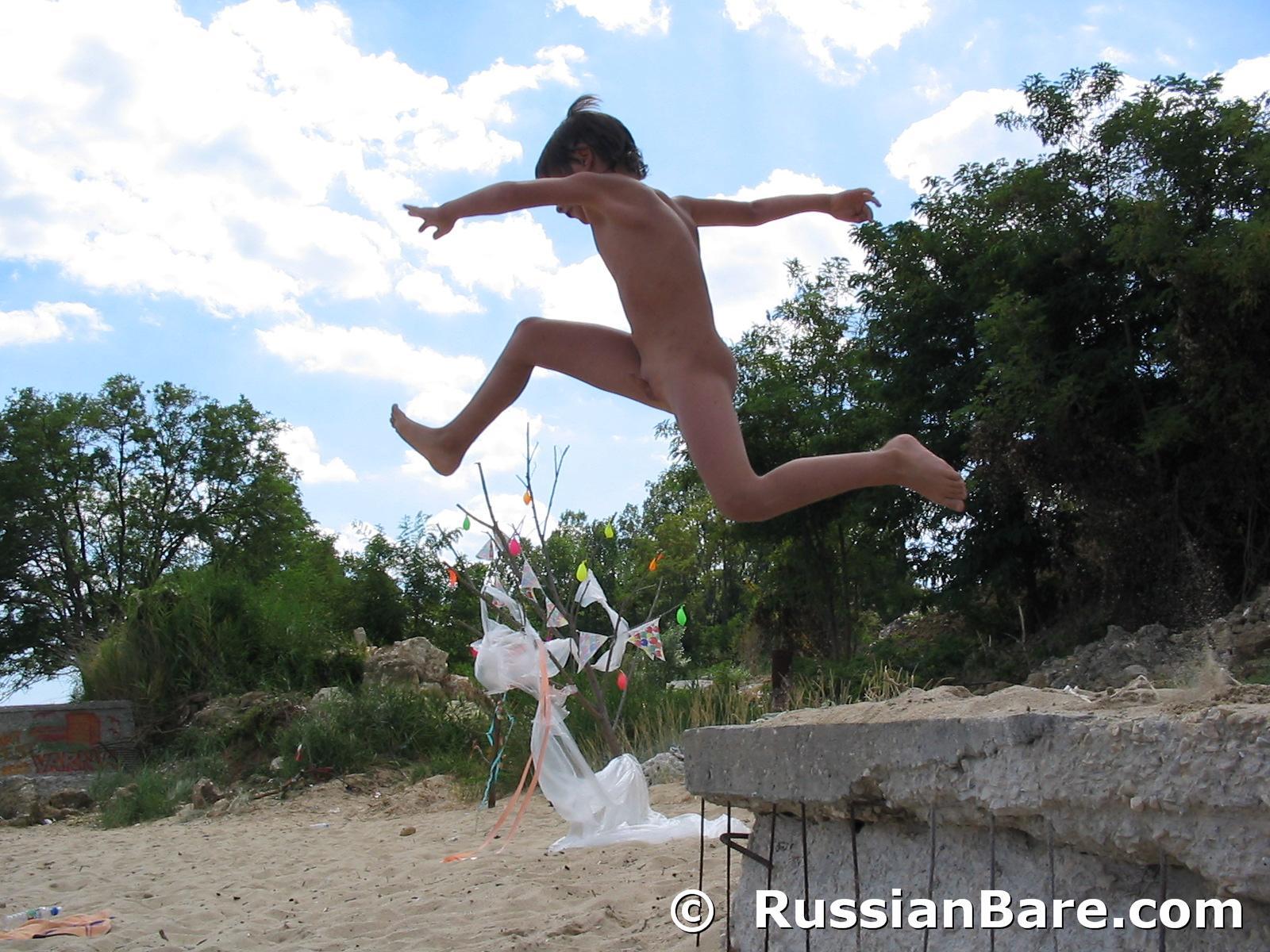 Bulgarian nudist festival