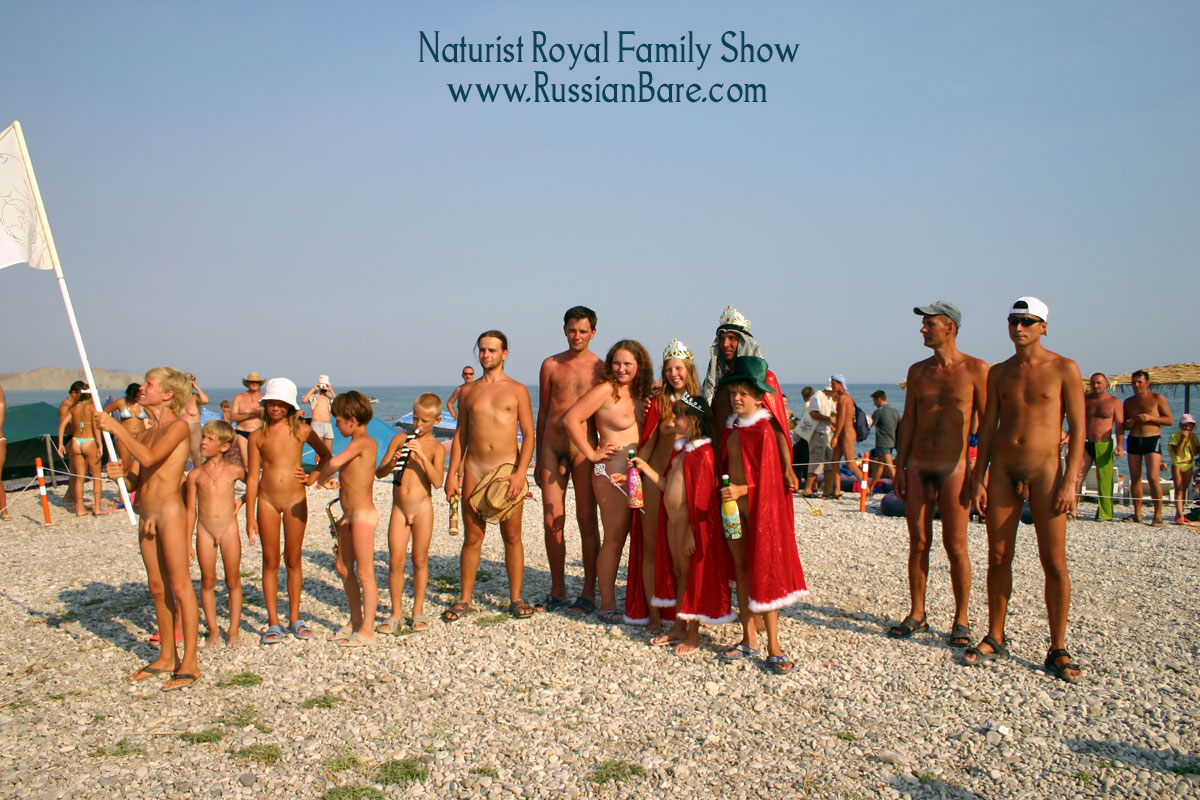 Brud nudism family beach pageant