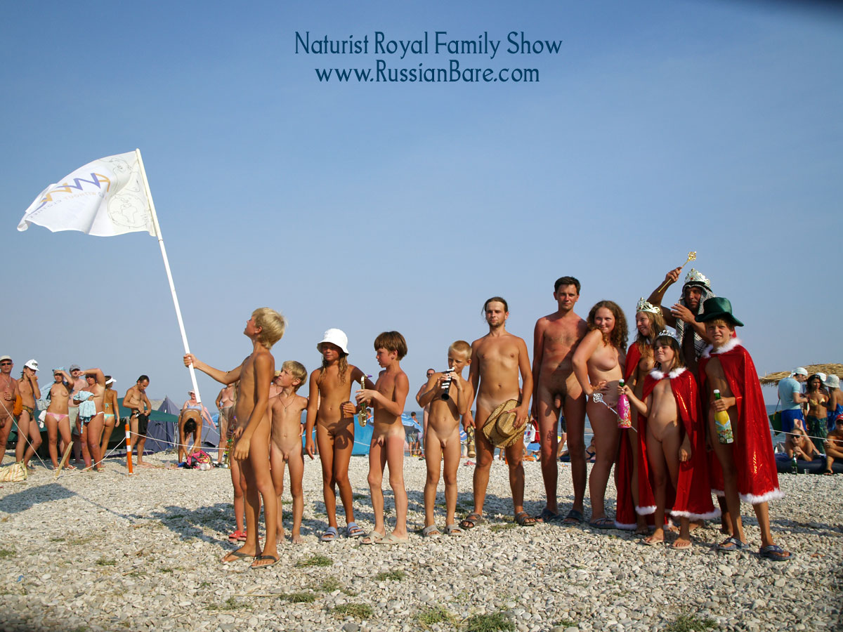 Rusian nudist fun