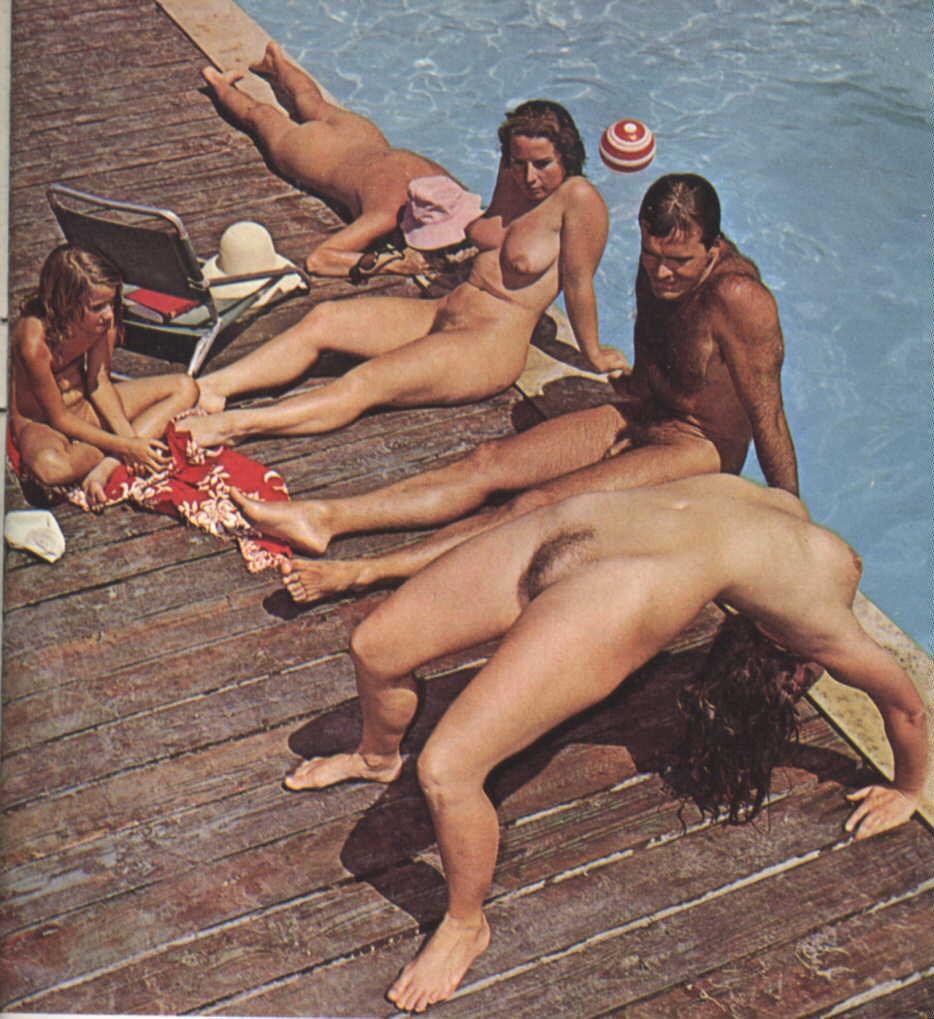 nude beach family