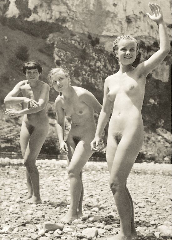 Remarkable, Early age nudist are