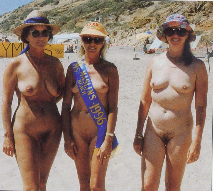Something is. Maslin beach nudist contest